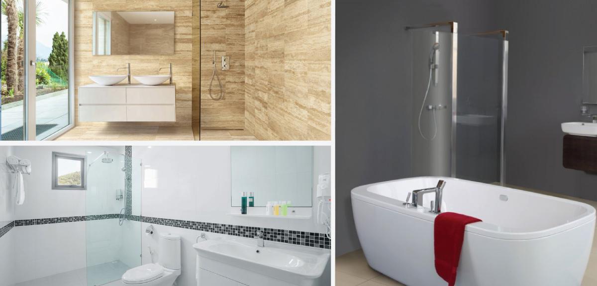 r novation de salle de bain rive sud vspec construction. Black Bedroom Furniture Sets. Home Design Ideas